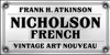 FHA Nicholson French NCV Font poster outdoor