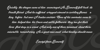 Yananeska Personal Use Font screenshot text