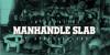 Manhandle Slab Font poster book