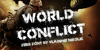 World Conflict Font book text