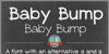 DJB BABY BUMP Font text