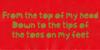 Jellygurp DEMO Font red