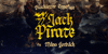 Jack Pirate Alt PERSONAL USE Font poster