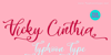 Vicky Cinthia - Personal Use Font poster