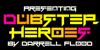 Dubstep heroes Font screenshot poster