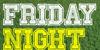 Friday Night Lights Font text design