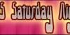 10.15 Saturday Night (BRK) Font plate screenshot