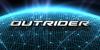 Outrider Font screenshot design