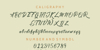 Stanwick Font text