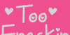 Too Freakin Cute Demo Font design typography