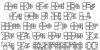 Gridstar Regular Font Letters Charmap