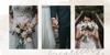 White Angelica Font wedding dress bride