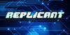 Replicant Font screenshot electric blue