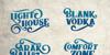 Braton Composer Stamp Rough Font typography design