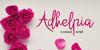 Adhelphia Font rose