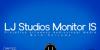 LJ Studios Monitor Large IS Font screenshot design