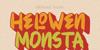 HELOWEN MONSTA Font poster