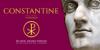 Constantine Font design graphic