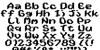 Wayfarer's Toy Box Regular Font Letters Charmap