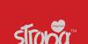 Strong Heart Font design poster