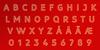 LIBRARY 3 AM Font font design