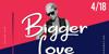 Bigger Love DEMO Font screenshot human face