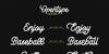 LesleyDemo Font text typography