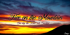 Fire on the Mountain Font cloud sky