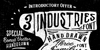 Industries - Hoe Font poster text
