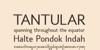 Tantular Font screenshot text