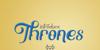 Thrones Font handwriting design