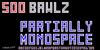 Soo Bawlz NBP Font screenshot design