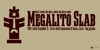 Megalito Slab Font poster abstract