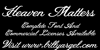 Heaven Matters Personal Use Font text handwriting