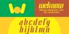 ANTELOPE Font poster text