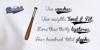 Brannboll Fet Font handwriting text