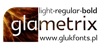Glametrix Font screenshot design