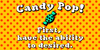 Candy Pop! Font cartoon illustration