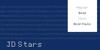 JD Stars Font text design