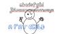 A fat child Font cartoon text