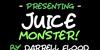 Juice Monster Font text handwriting