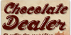 Chocolate Dealer Font text typography