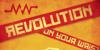 Red October Font poster design