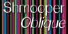 Shmooper Font screenshot design