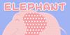 Elephant Ears Demo Font design cartoon
