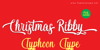 Christmas Ribby - Personal Use Font poster