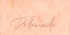 Dellamonde Font handwriting text