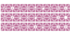 Zigourati Font pattern magenta