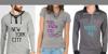 Descuadrado Font person shirt