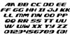 Xcelsion Italic Italic Font Letters Charmap
